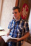 Nichtstaatliche Schule in Belarus in der Nähe von Minsk, deren Schüler und Lehrer lange Wege und Überwachung in Kauf nehmen. / Privatschool in Belarus near Minsk.