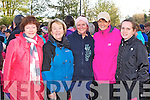 Theresa O'Leary Kilcummin, Peggy McCarthy, Frances Healy Killarney, Vera Healy Glenflesk and Sinead Fleming Killarney at the Operation transformation walk on Saturday