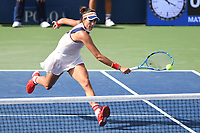 FLUSHING, NY- SEPTEMBER 01: ***NO NY DAILIES***  Garbine Muguruza Vs Magdalena Rybarikova during the 2017 US Open at the USTA Billie Jean King National Tennis Center on September 1, 2017 in Flushing Queens. Credit: mpi04/MediaPunch