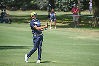 Rafael Cabrera Bello (ESP) watches his approach shot on 2  during round 4 of the World Golf Championships, Mexico, Club De Golf Chapultepec, Mexico City, Mexico. 3/4/2018.<br /> Picture: Golffile | Ken Murray<br /> <br /> <br /> All photo usage must carry mandatory copyright credit (&copy; Golffile | Ken Murray)