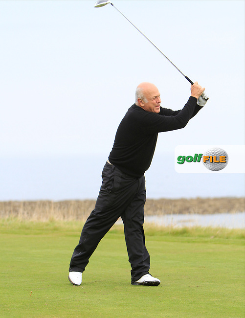 John Tyson during Round 2 of the Alfred Dunhill Links Championship at Kingsbarns Golf Club on Friday 27th September 2013.<br /> Picture:  Thos Caffrey / www.golffile.ie