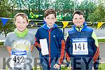 Kieran O'Brien, Adan Sheehy, Adam O'Connor  at the CBS The Green Fun Run on Sunday afternoon