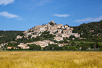 Hilltop town in Provence, France