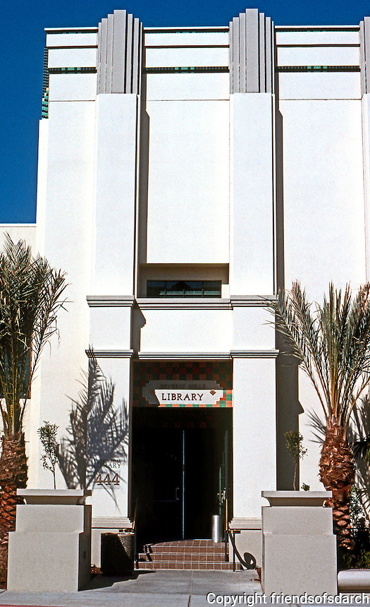 Charles Moore: Library.  Photo '91.