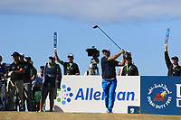 Ryan Fox (NZL) on the 17th tee during Round 2 of the Dubai Duty Free Irish Open at Ballyliffin Golf Club, Donegal on Friday 6th July 2018.<br /> Picture:  Thos Caffrey / Golffile