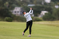 Brittney Dryland. Jennian Homes Charles Tour Autex Muriwai Open, Muriwai Links Golf Course, Muriwai, Auckland, New Zealand,Thursday 12 April 2018. Photo: Simon Watts/www.bwmedia.co.nz