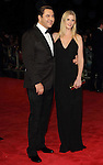 David Walliams and Lara Stone at the  BFI London Film Festival Closing Gala 'Great Expectations' at the.. Odeon Leicester Square, London - October 21st 2012 Picture By: Brian Jordan / Retna Pictures.. ..-..