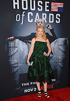 LOS ANGELES, CA. October 22, 2018: Patricia Clarkson at the season 6 premiere for &quot;House of Cards&quot; at the Directors Guild Theatre.<br /> Picture: Paul Smith/Featureflash