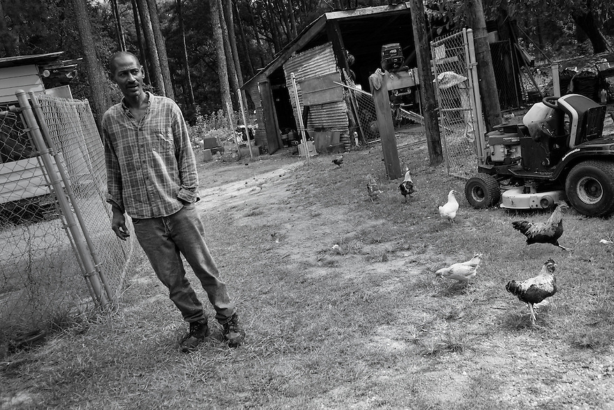 Clarence Simmons lives the traditional Gullah Geechee lifestyle raising pigs, goats, chickens and a cow that he claims is 34 years old. Some people on the island say that Clarence was born with a caul, an inner fetal membrane that covers the head at birth. It is a Gullah Geechee belief that children with cauls have been touched by uncommonness and magic, and therefore, they can see spirits and things that others cannot.