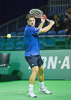 10-02-13, Tennis, Rotterdam, qualification ABNAMROWTT, Jesse Huta Galung