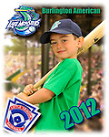2012 Burlington American Lake Monsters