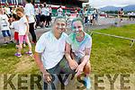 Kamila Petryszyn and Sebastian Chilmiki from Killarney at the colour run in Killarney on Sunday.