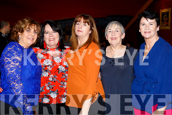 Marie O'Shea, Jacinta Powell, Ann O'Sullivan, Catherine Casey and Katie Moroney on a night out in Restaurant Uno.