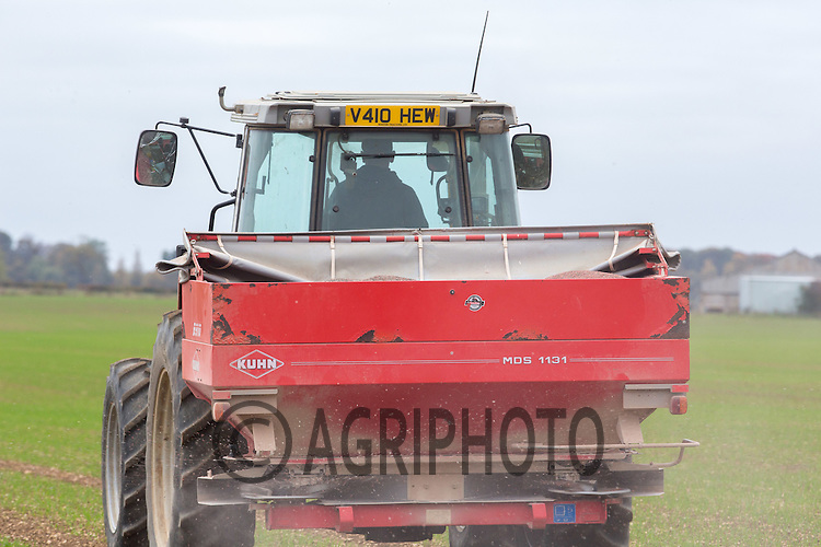 Applying compound to Winter Wheat<br /> Picture Tim Scrivener 07850 303986<br /> tim@agriphoto.com<br /> &hellip;.covering agriculture in the UK&hellip;.