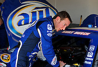 Feb 07, 2009; Daytona Beach, FL, USA; NASCAR Sprint Cup Series driver Kurt Busch during practice for the Daytona 500 at Daytona International Speedway. Mandatory Credit: Mark J. Rebilas-