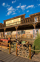 Calico Ghost Town Barstow CA California  for tourist in  old cowboy town of the 1800's cowboys of antique shops