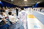 Japan team group (JPN),<br /> AUGUST 11, 2013 - Fencing :<br /> World Fencing Championships Budapest 2013, Men's Team Epee Round of 32 at Syma Hall in Budapest, Hungary. (Photo by Enrico Calderoni/AFLO SPORT) [0391](L to R)   Oleksandr Gorbachuk, Satoru Uyama, Keisuke Sakamoto, Yoshiki Hirano, Kazuyasu Minobe