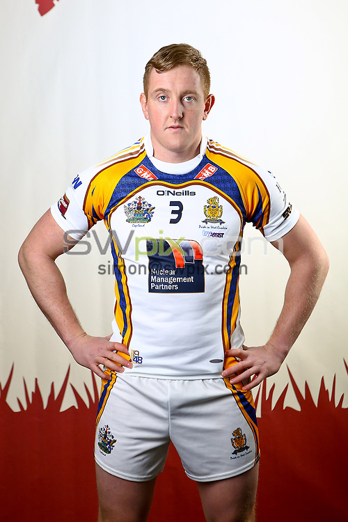 Picture by Alex Whitehead/SWpix.com - 10/02/2014 - Rugby League - 2014 Kingstone Press Championship Launch - Media City, Salford, England - Whitehaven's Lee Mitchell.
