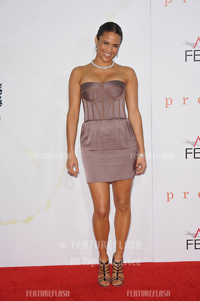 """Paula Patton at the Los Angeles premiere of her new movie """"Precious"""", based on the novel """"Push"""" by Sapphire, at Grauman's Chinese Theatre, Hollywood, as part of the AFI Fest 2009..November 1, 2009  Los Angeles, CA.Picture: Paul Smith / Featureflash"""