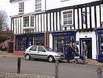 A51P40 The Shrine shop Little Walsingham Norfolk England