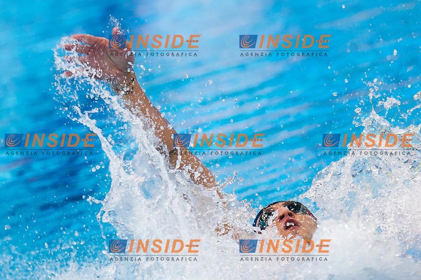 CICCARESE Christopher ITA<br /> London, Queen Elizabeth II Olympic Park Pool <br /> LEN 2016 European Aquatics Elite Championships <br /> Swimming<br /> Men's 100m backstroke preliminary <br /> Day 08 16-05-2016<br /> Photo Giorgio Perottino/Deepbluemedia/Insidefoto