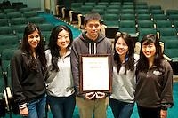 The Harker School - US Upper School - US Journalism program wins Gold Crown Award...Photo by Chris Daren