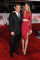 "1 February 2016 - Westwood, California - Josh Brolin, Kathryn Boyd. ""Hail, Caesar!"" Los Angeles Premiere held at the Regency Village Theatre. Photo Credit: Byron Purvis/AdMedia"