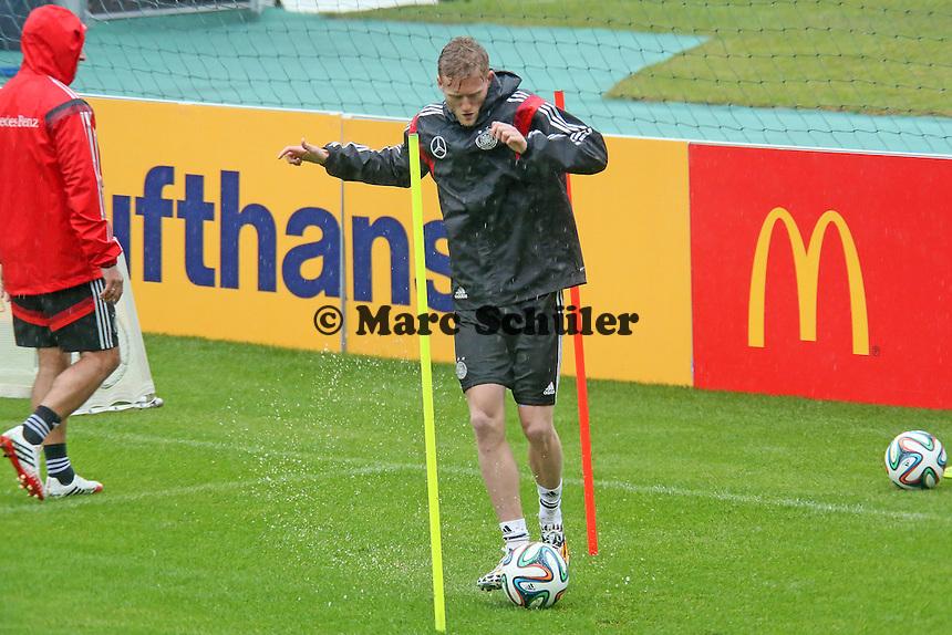Andre Schürrle - Training der Deutschen Nationalmannschaft  zur WM-Vorbereitung in St. Martin