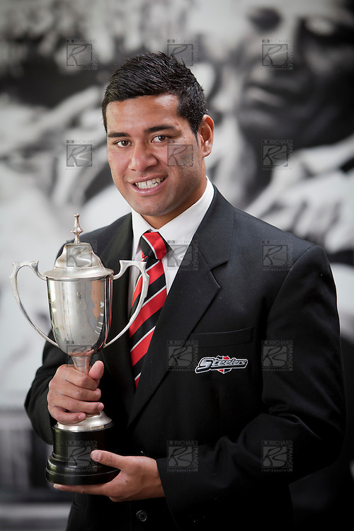 Counties Manukau Rugby Union Steelers Player of the Year 2010 was awarded to Siale Piutau at the Prize giving diiner held at Bayer Growers Stadium, Pukekohe  on Thursday 11th November.