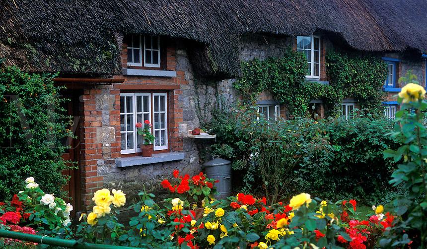 Quaint Irish cottege, Adare, County Limerick, Ireland