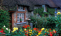 Quaint Irish cottege, Adare, County Limerick, Ireland