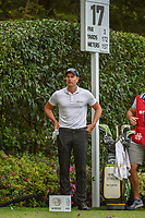 Henrik Stenson (SWE) looks over his tee shot on 17 during round 2 of the World Golf Championships, Mexico, Club De Golf Chapultepec, Mexico City, Mexico. 2/22/2019.<br /> Picture: Golffile | Ken Murray<br /> <br /> <br /> All photo usage must carry mandatory copyright credit (© Golffile | Ken Murray)