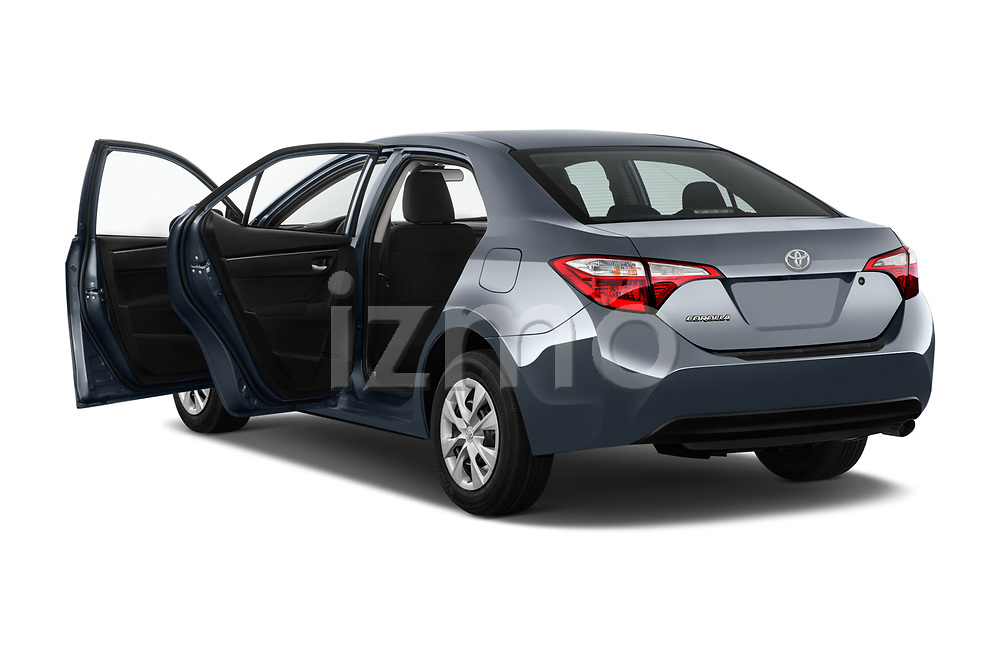 Car images close up view of a 2018 Toyota Corolla L 4 Door Sedan doors