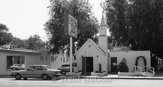 Graceland wedding chapel.<br />