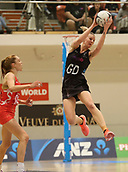 10th September 2017, PG Arena, Napier, New Zealand; Taini Jamison Netball Trophy, New Zealand versus England;  New Zealands Katrina Grant