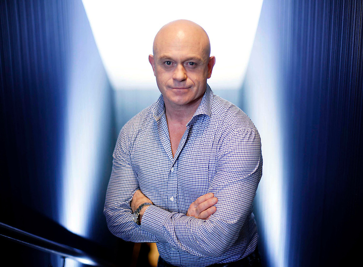 No Repro Fee.<br /> Ross Kemp pictured in Dublin today (Tuesday 14th Jan. 2014) to launch Extreme World series 3 which begins on Sky1 HD next Thursday 21st of January. Inthe new series Ross travels to Mumbai, Papua New Guinea and Rio de Janeiro. Pic. Robbie Reynolds