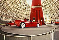 National Corvette Museum honoring the Corvette, Bowling Green, KY.