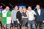 Pat Murphy, Paul Healy, Carol Hillard, Sharon Healy, Sean McGovern and Joe Sheridan, pictured the Austin Stacks Strictly Come Dancing held in the Dome, Tralee on Saturday night