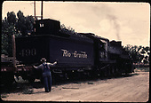 D&amp;RGW #490.<br /> D&amp;RGW  Farmington - Aztec area ?, NM