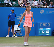 June 16th 2017, Nottingham, England; WTA Aegon Nottingham Open Tennis Tournament day 5;  Exasperation from Magdalena Rybarikova of The Slovak Republic as she defeated Kristie Ahn of USA in the quarter final