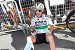 Sam Bennett (IRL) Bora-Hansgrohe wins Stage 14 of La Vuelta 2019  running 188km from San Vicente de la Barquera to Oviedo, Spain. 7th September 2019.<br /> Picture: Luis Angel Gomez/Photogomezsport | Cyclefile<br /> <br /> All photos usage must carry mandatory copyright credit (© Cyclefile | Luis Angel Gomez/Photogomezsport)