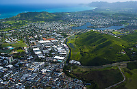 Aerial of Kailua, Oahu