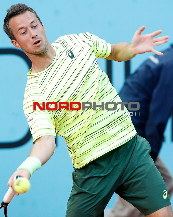 Philipp Kohlschreiber during Madrid Open Tennis 2015 match.May, 5, 2015.Foto © nph / Acero)