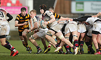 Wednesday 7th March 2018 | RBAI vs Royal School Armagh <br /> <br /> Ryan O&rsquo;Neill during the Ulster Schools Cup Semi-Final between RBAI and Royal School Armagh at Kingspan Stadium, Ravenhill Park, Belfast, Northern Ireland. Photo by John Dickson / DICKSONDIGITAL