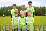 Soccer was the name of the game at the FAI summer school at Mastergeeha in Killarney last week. <br /> Front L-R Eoghan Kelly, Anthony Carroll and James Williams. <br /> Back L-R Jamie O'Connor, Kirill Healy and Brogan McCarthy.