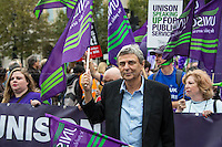 Dave Prentis (General Secretary of UNISON).<br />