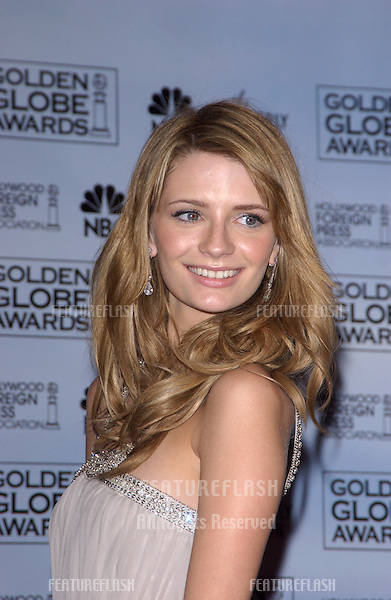 Jan 16, 2005; Los Angeles, CA: MISCHA BARTON at the 62nd Annual Golden Globe Awards at the beverly Hilton Hotel..