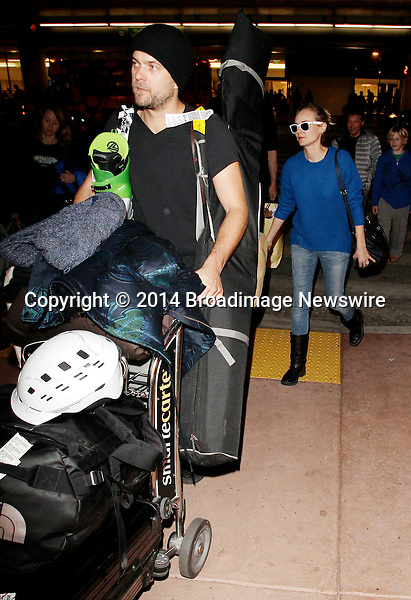 Pictured: Diane Kruger,  Joshua Jackson<br /> Mandatory Credit &copy; CALA/Broadimage<br /> Diane Kruger and husband Joshua Jackson arriving at the Los Angeles International Airport<br /> <br /> 1/21/14, Los Angeles, California, United States of America<br /> <br /> Broadimage Newswire<br /> Los Angeles 1+  (310) 301-1027<br /> New York      1+  (646) 827-9134<br /> sales@broadimage.com<br /> http://www.broadimage.com