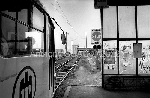 Litvinov, Czech Republic.July 1997.In an industrial city in northwest Czech Republic pollution and hardships dominate the landscape. The government subsidizes much of the industry here yet high unemployment has affected the region..