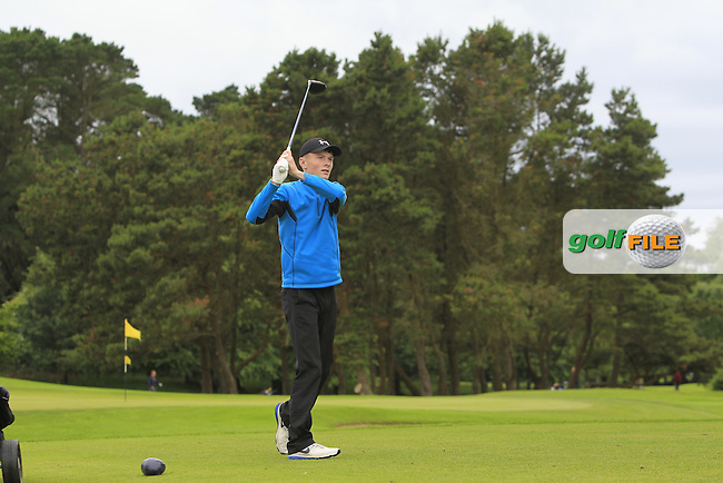 Shane Kearney (Esker Hills) during R2 of the 2016 Connacht U18 Boys Open, played at Galway Golf Club, Galway, Galway, Ireland. 06/07/2016. <br /> Picture: Thos Caffrey   Golffile<br /> <br /> All photos usage must carry mandatory copyright credit   (&copy; Golffile   Thos Caffrey)